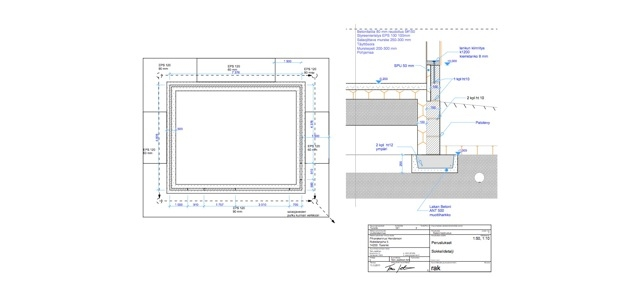 Timber house garage plans for Garage foundation plans