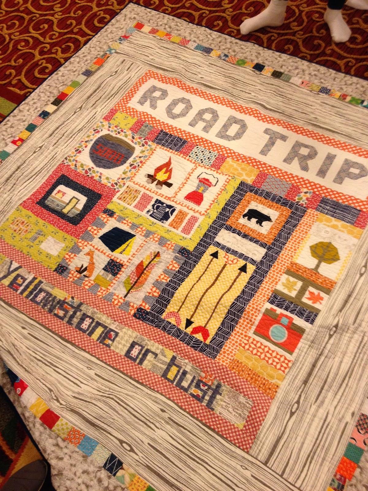 Road Trip quilt