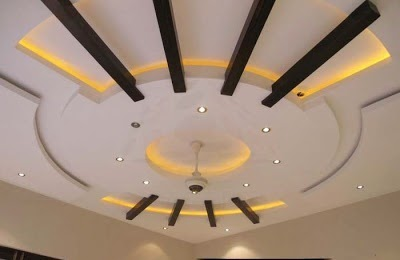 False Ceiling Pop Designs With LED Ceiling Lighting Ideas For Living Room Part 40