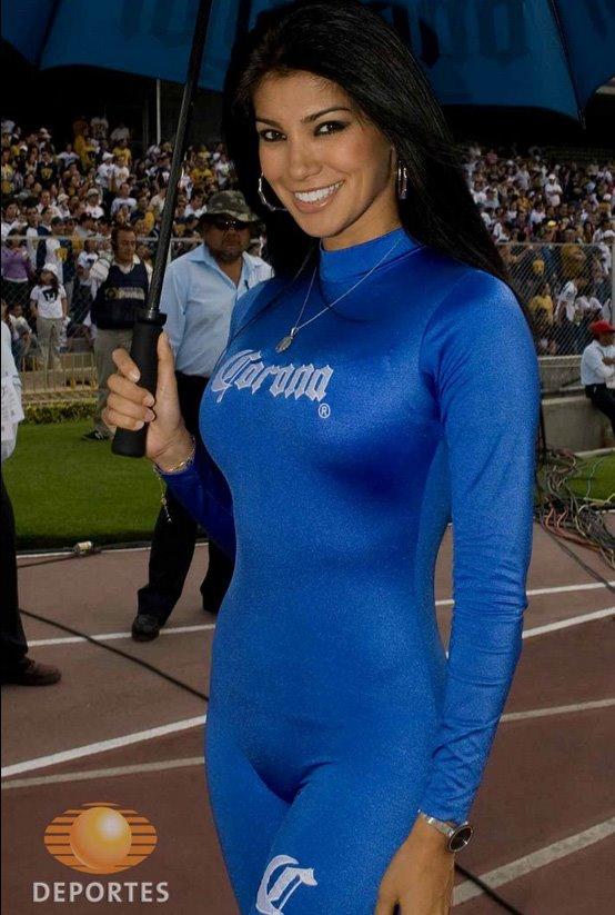 ... de imágenes con las edecanes del fútbol mexicano, espero les guste