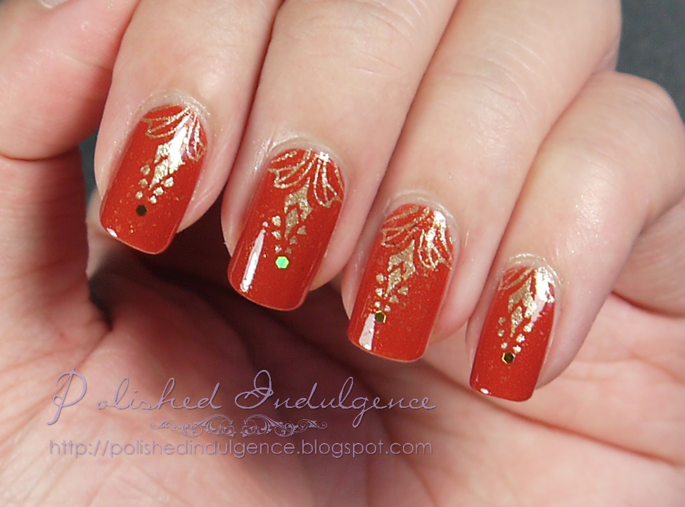 Polished Indulgence Nail Art Wednesday Autumn Elegance With