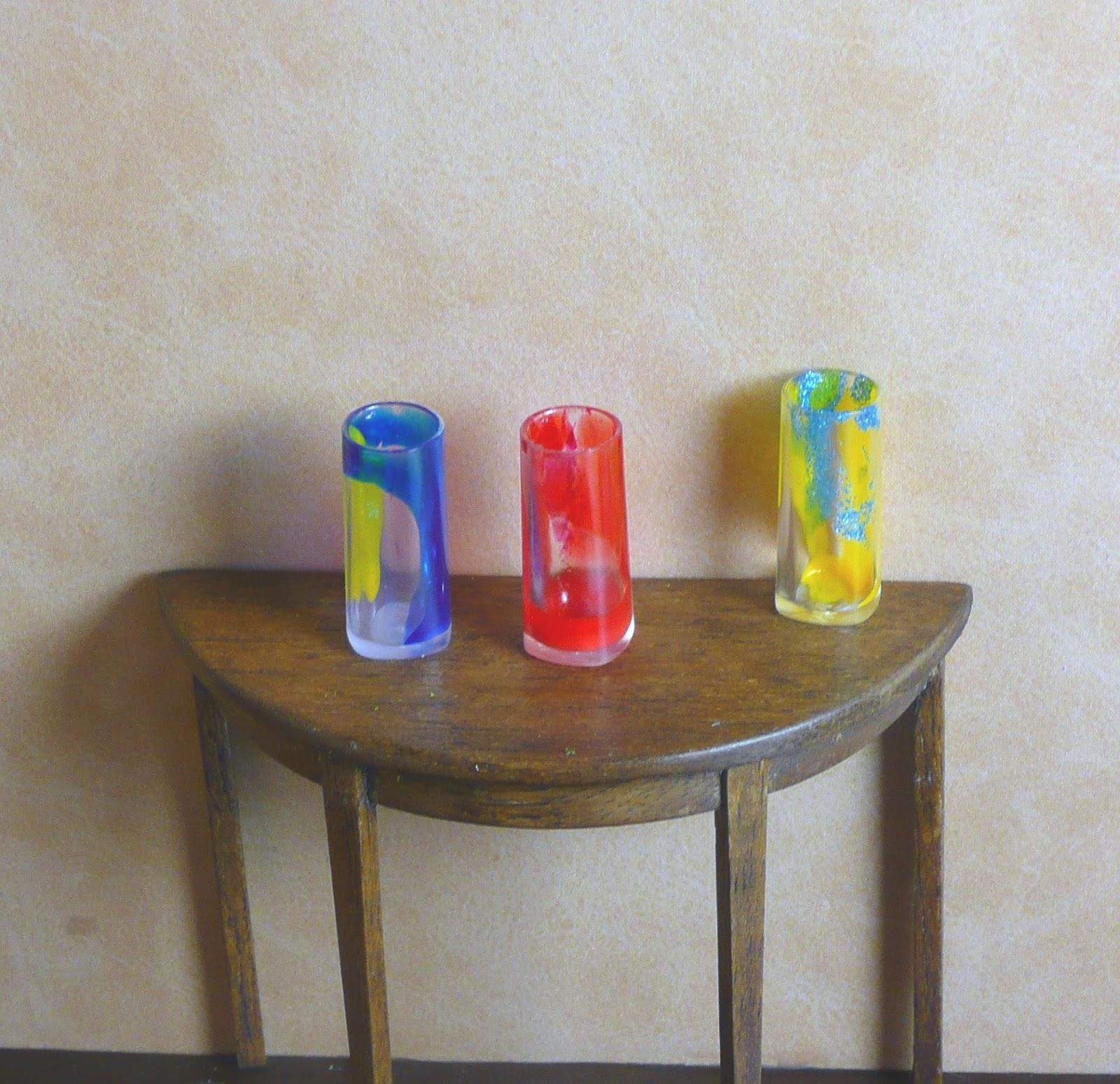 Joanne's Minis: Dollhouse Miniature Flower Vase