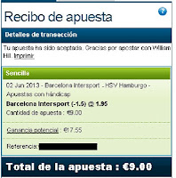 Apuestas Deportivas Rosberg Balonmano – Champions League Barcelona Hamburgo William Hill 2013