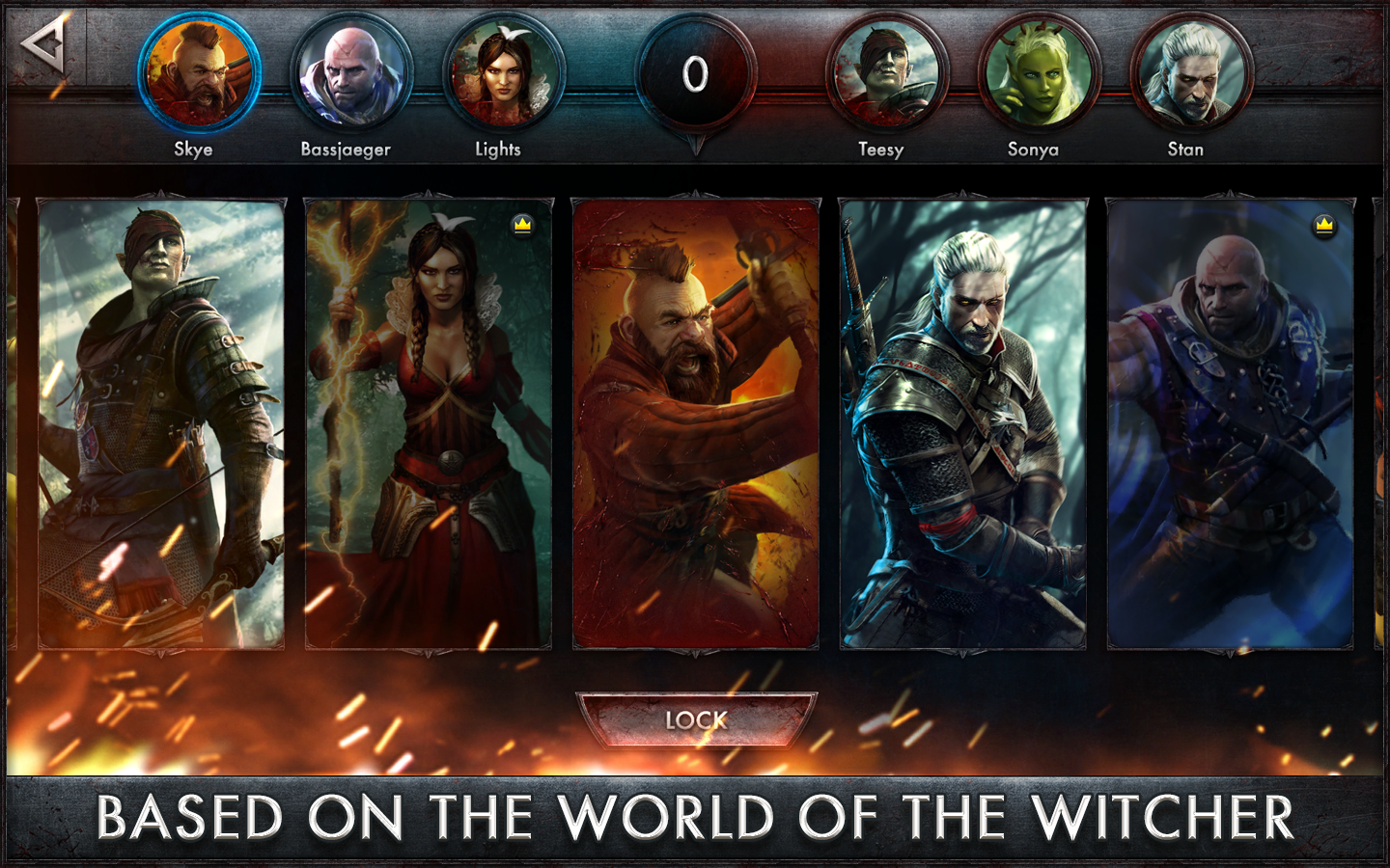 The Witcher Battle Arena v1.0.4 Apk Mod for Android