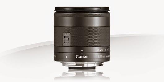 Fotografia dello zoom Canon EF-M 11-22mm f/4-5.6 IS STM