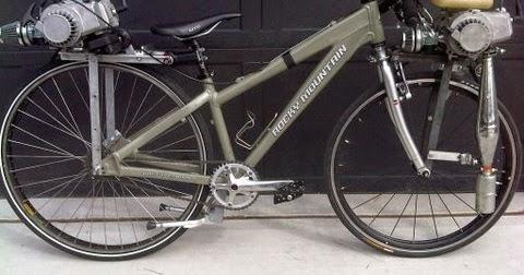 Motorized Bicycle Way2speed Performance