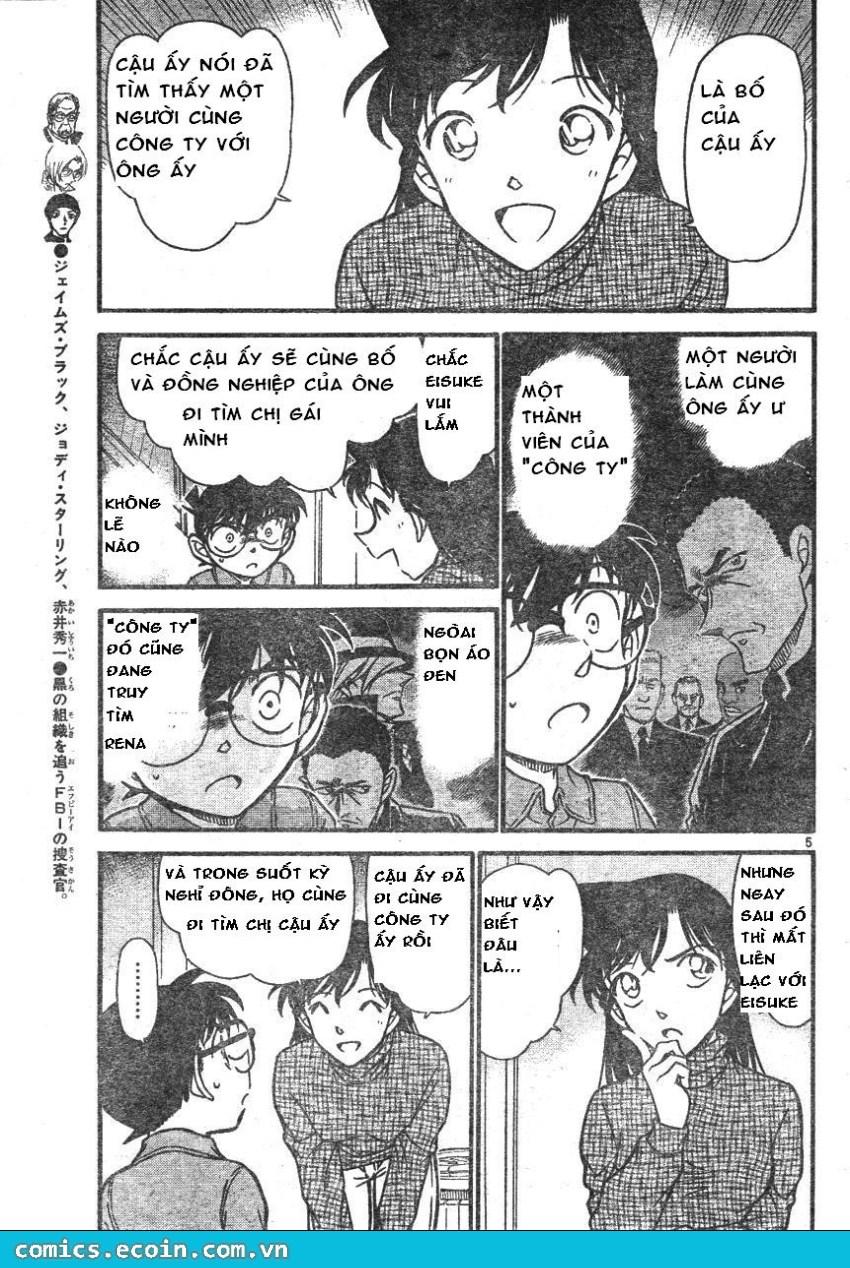 Detective Conan - Thám Tử Lừng Danh Conan chap 595 page 5 - IZTruyenTranh.com