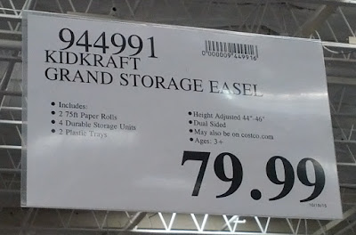 Deal for the KidKraft Grand Storage Easel at Costco