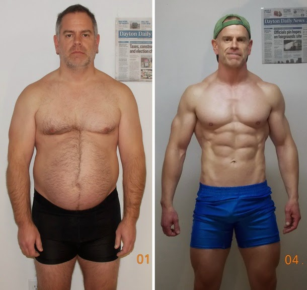 Photo An Ohio Man Loses 40 Pounds, gains a Six-Pack and $50,000