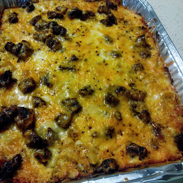 Peppered Steak Mac and Cheese