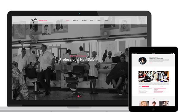 Barbershop – HTML5 and CSS3 Template