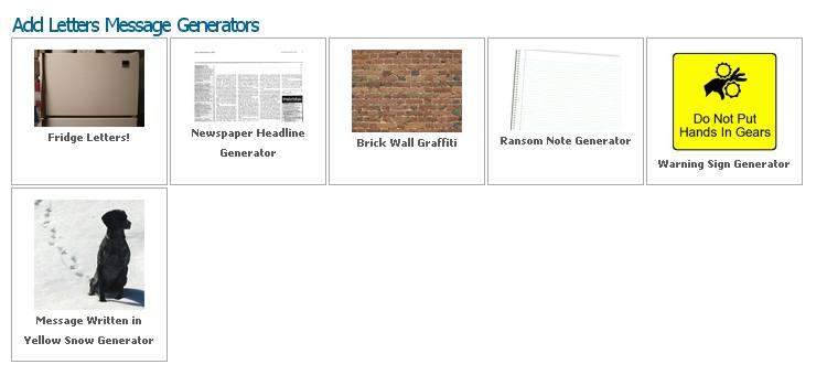 Online newspaper generator