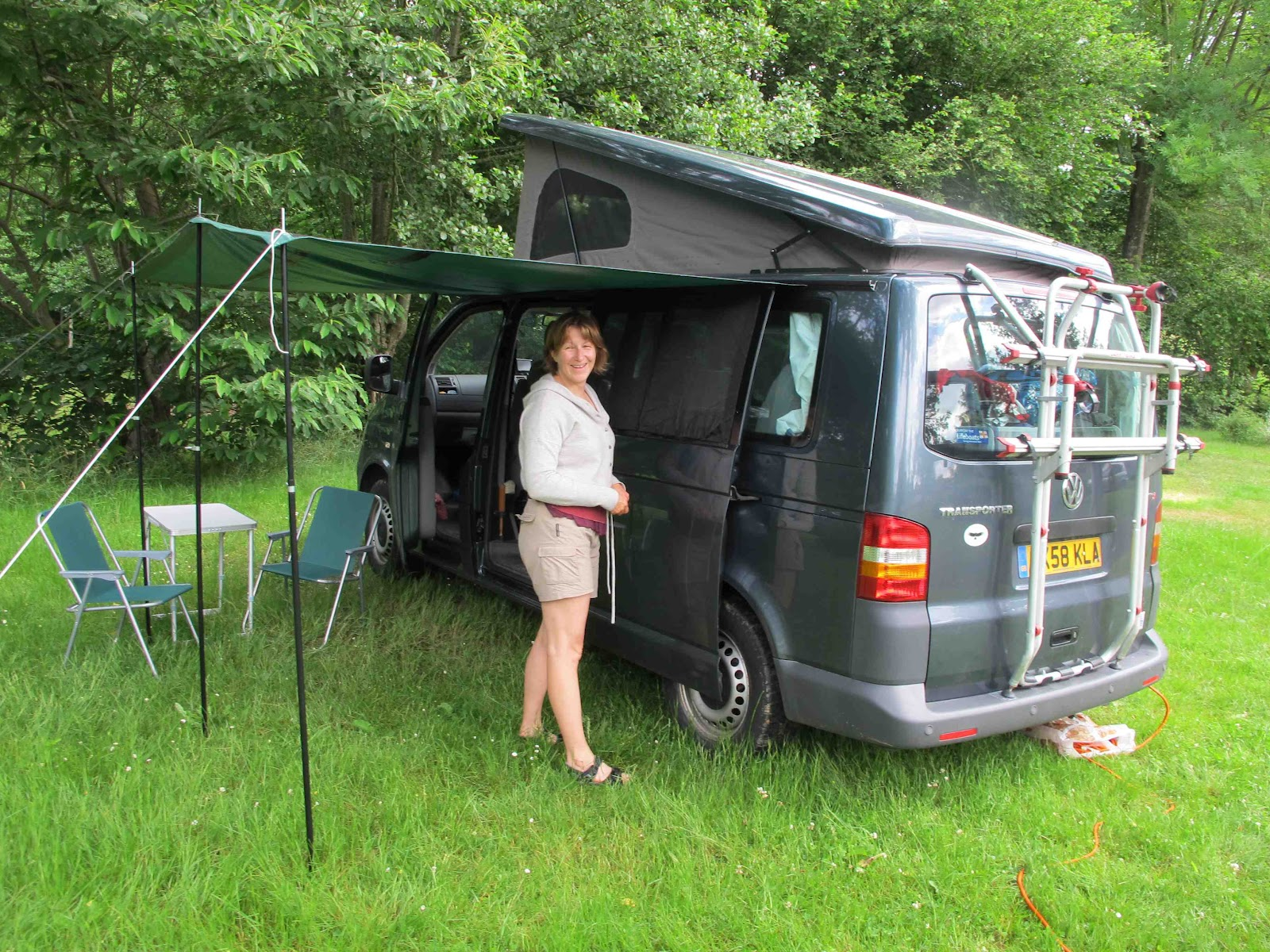 Simonwillis New Campervan For Sea Kayaking Cycling Long