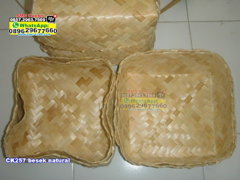 besek natural unik