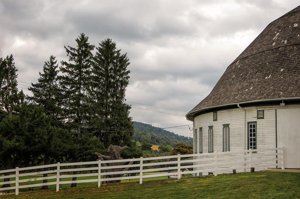 Historic Round Barn near Gettysburg, PA