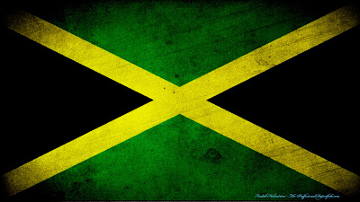 Jamaica flag grunge wallpaper by The proffesional