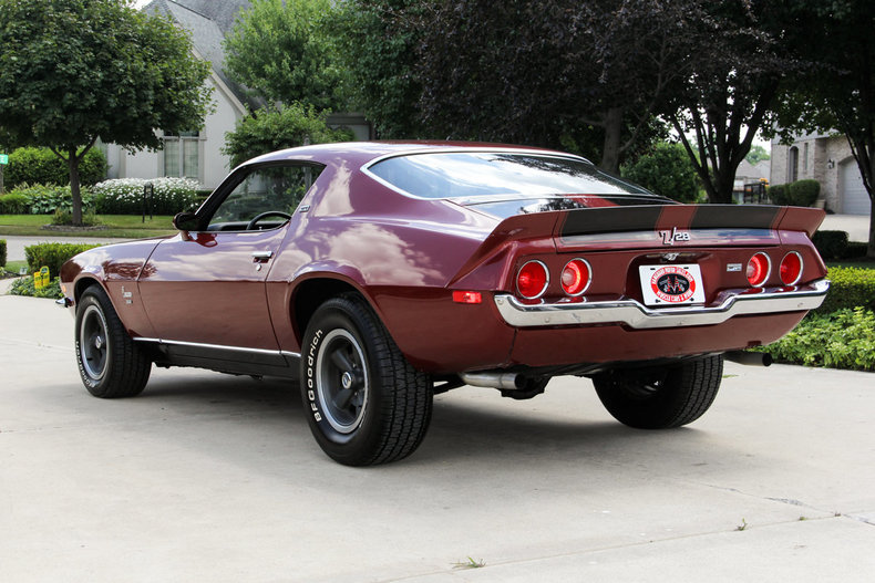 1973 chevrolet camaro z28 - photo #30