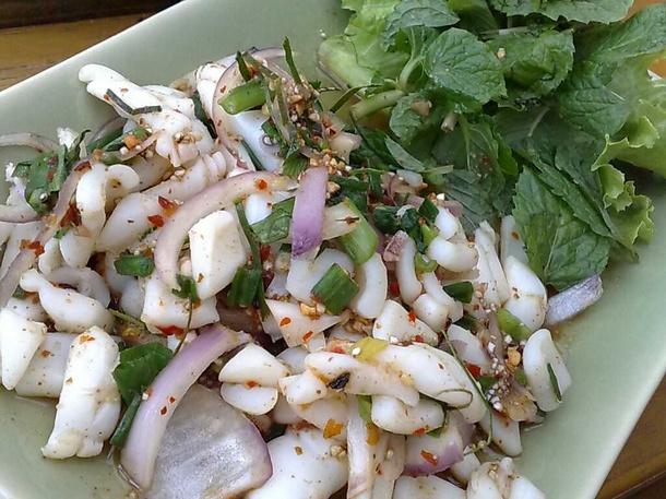 Spicy Squid Salad