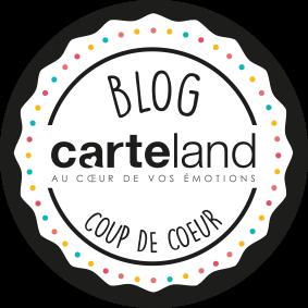 Blog coup de coeur Carteland