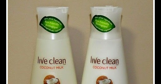 Live Clean's New Coconut Milk Moisturizing Shampoo & Conditioner Review and Giveaway
