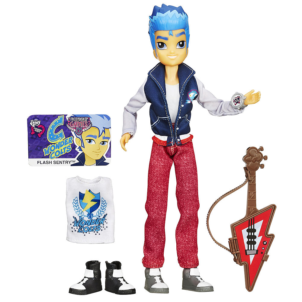 Kmart Exclusive Flash Sentry Doll Listed On Website Mlp