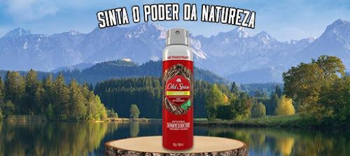 Testei o Desodorante Old Spice Lenha Spray