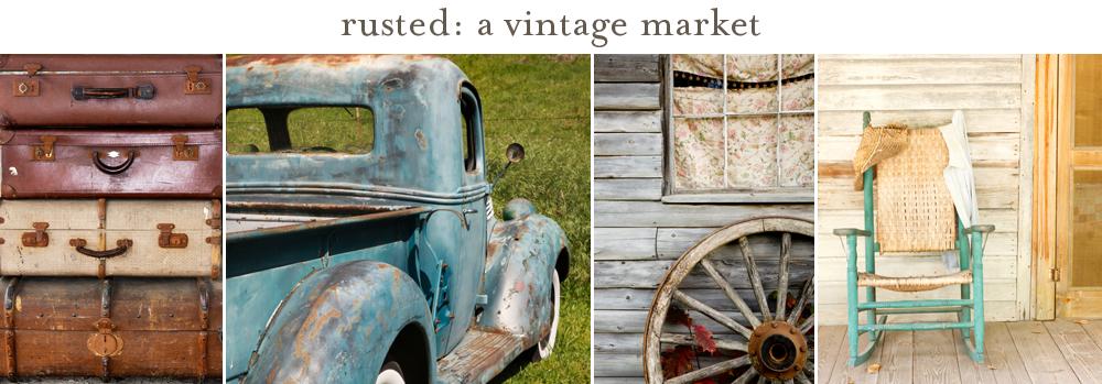 rusted: vintage market