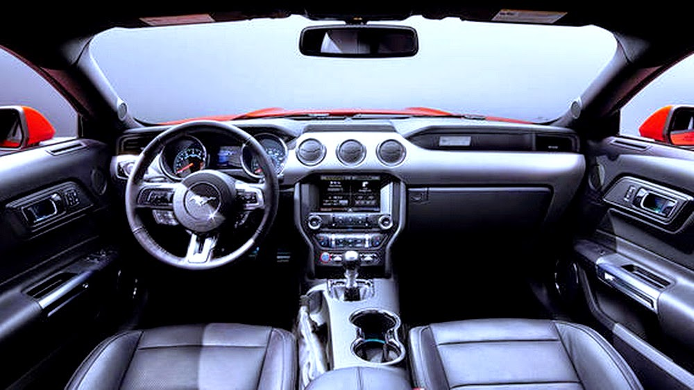 ford mustang generations - 2014 Ford Mustang Convertible Interior