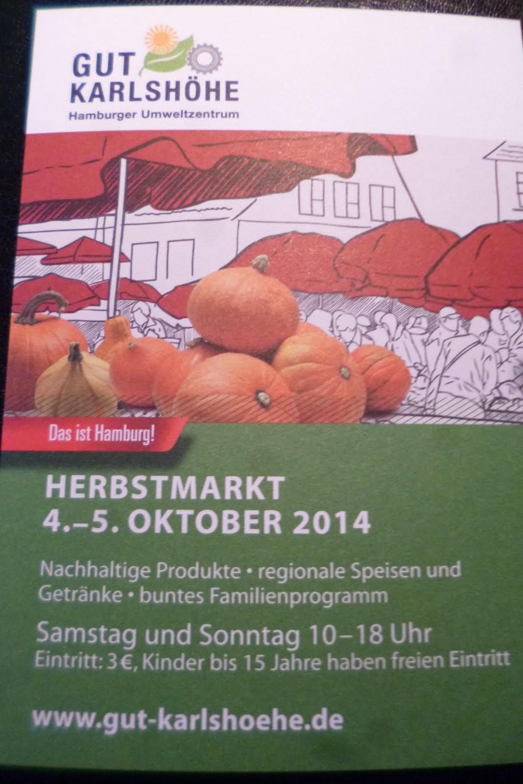 Herbstmarkt auf der Karlshöhe