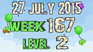 Angry Birds Friends Tournament level 2 Week 167