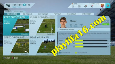 FIFA 16 Career Mode