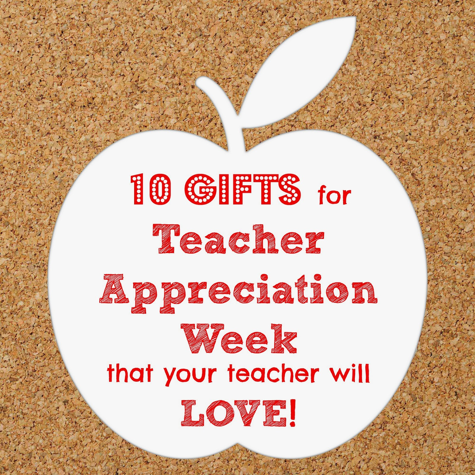 Classroom Ideas For Teacher Appreciation Week ~ While i m waiting gift ideas for teacher
