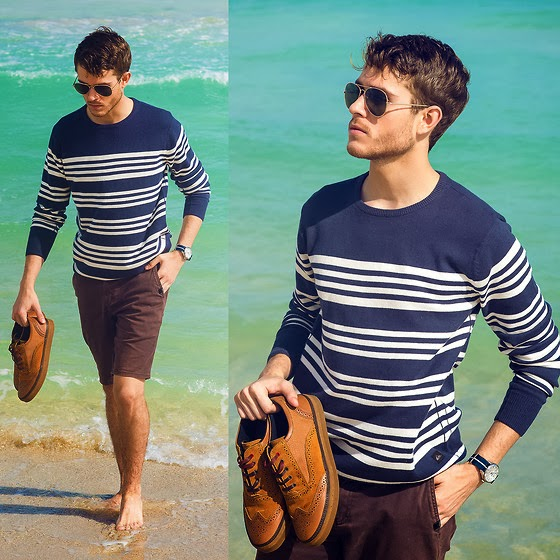Jersey-sweater-marinero-bermudas-Look