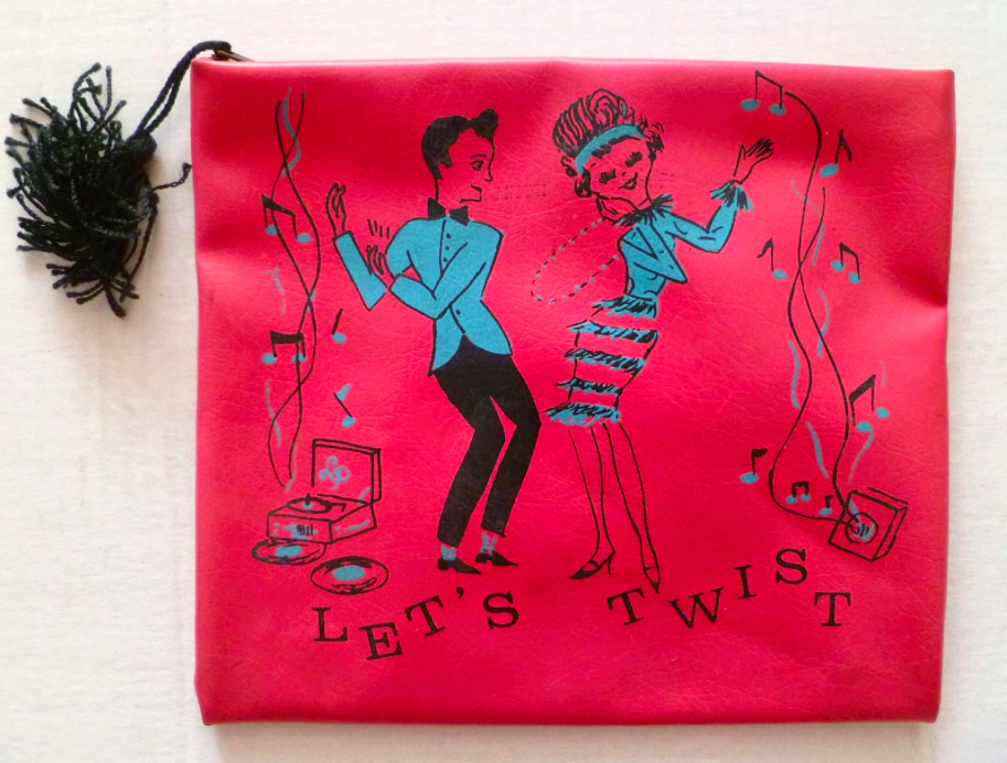 Let's Twist purse - Vintage Purse Gallery - Hello, Handbag
