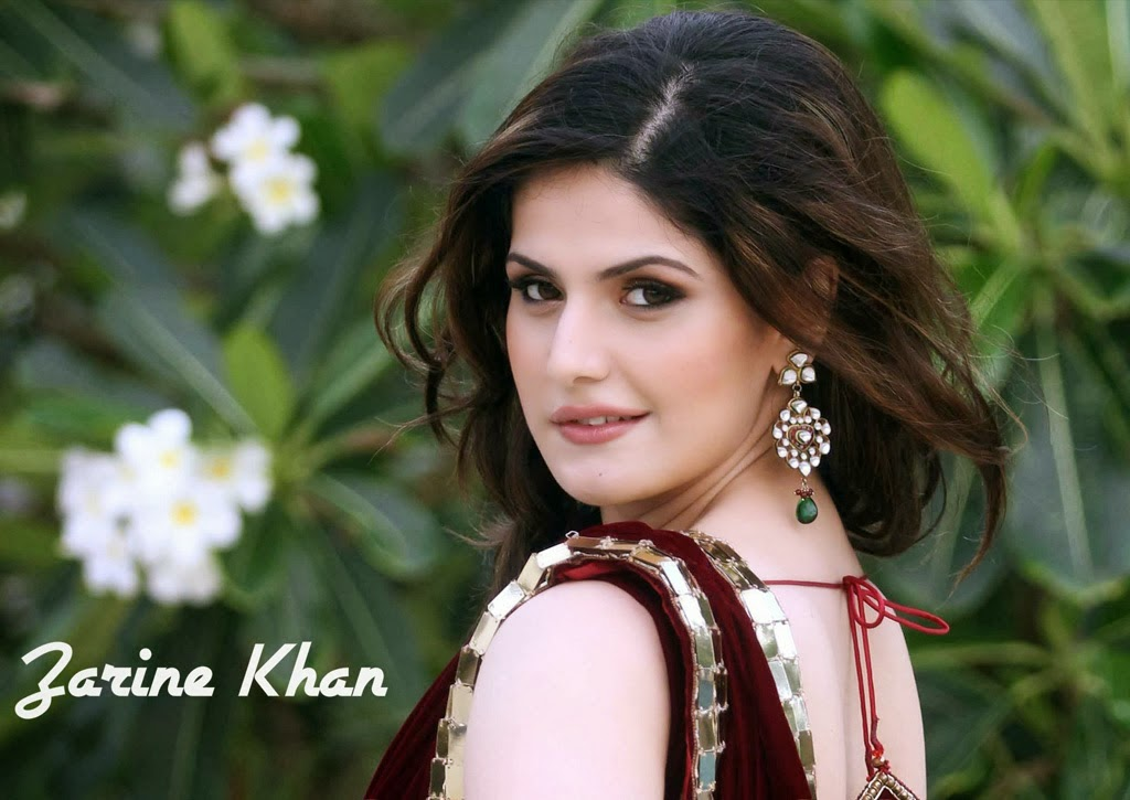 zarin khan hot wide desktop wallpaper