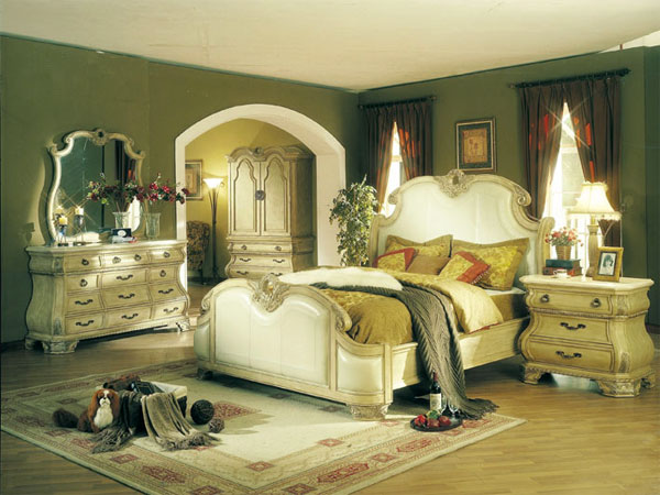 Modern furniture country style bedrooms 2013 decorating ideas for Antique style bedroom ideas