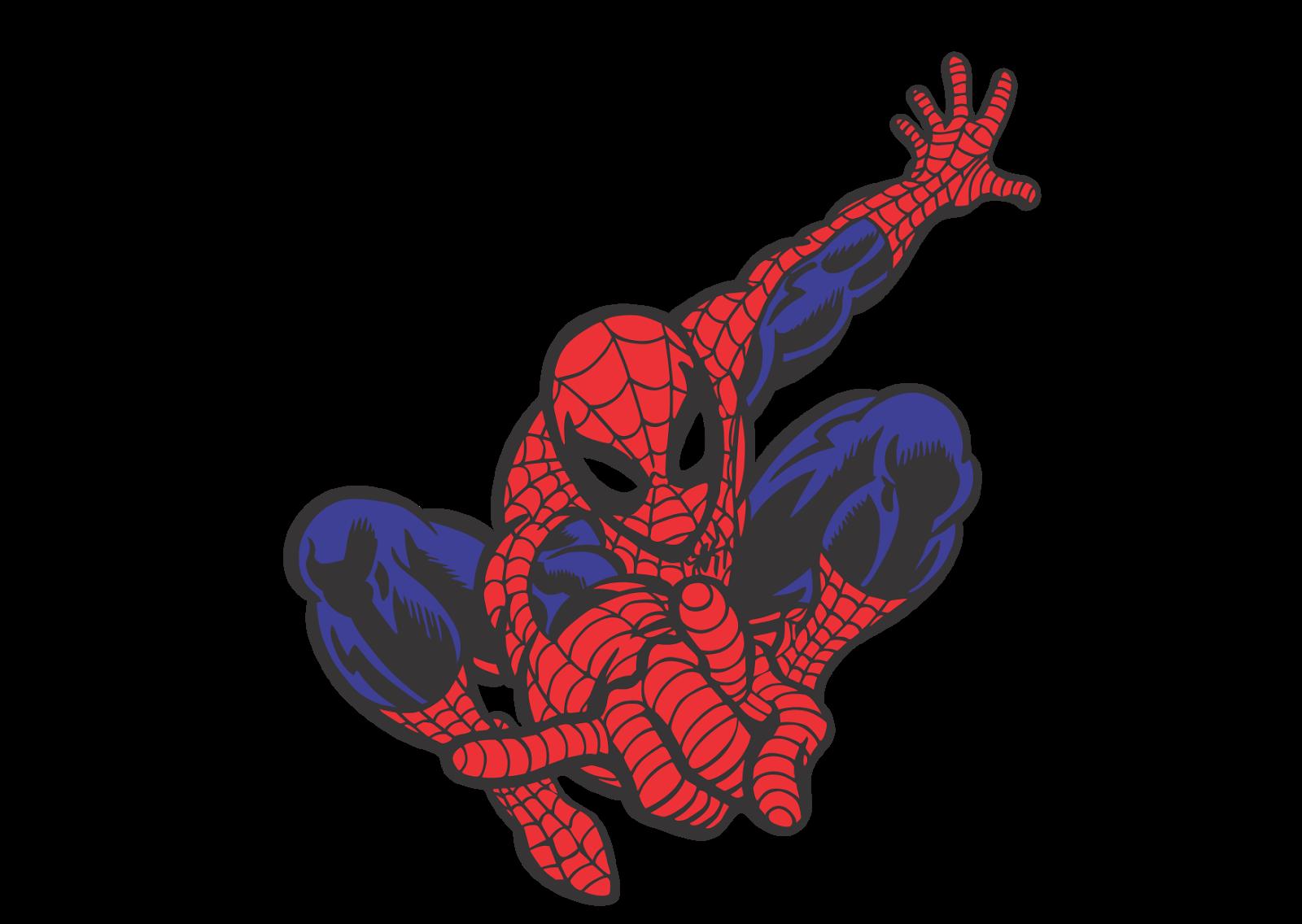 spiderman logo vector format cdr ai eps svg pdf png spiderman