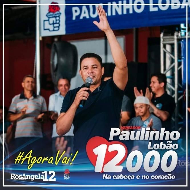 Vereador Paulinho Lobão