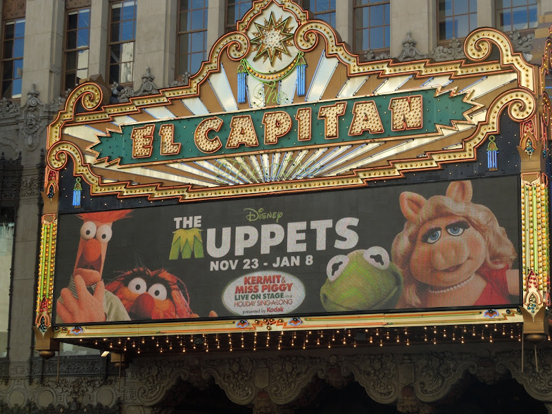 The Muppets El Capitan Hollywood