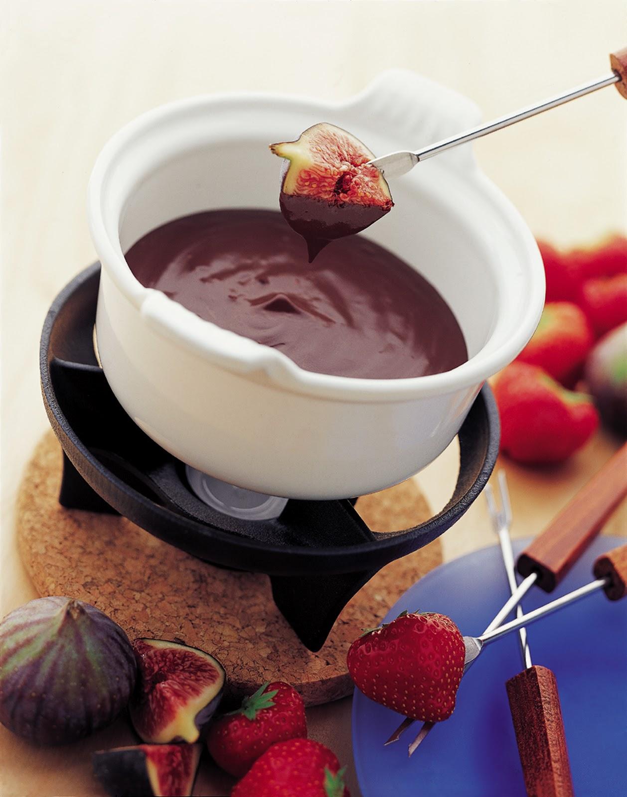 Cook store fondue de chocolate - Fondue de chocolate ...