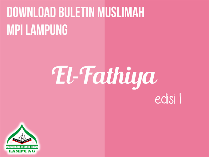 Download Buletin Muslimah El-Fathiya Edisi 1