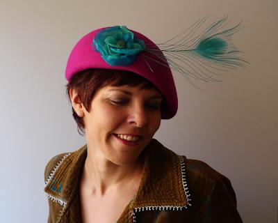 boina sombrero belle de jour ojuilla