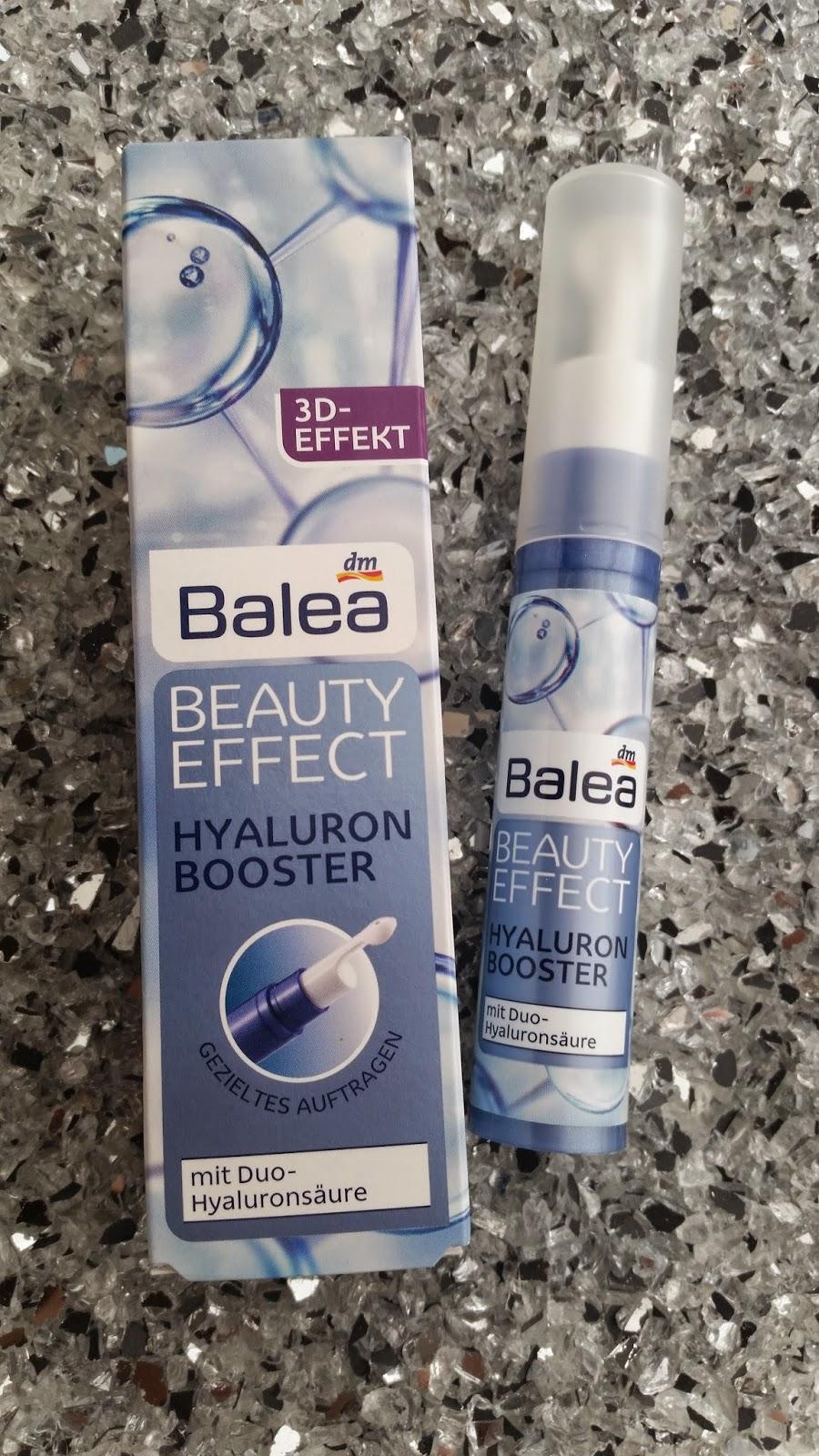 Balea - Beauty Effect Hyaloron Booster - www.annitschkasblog.de
