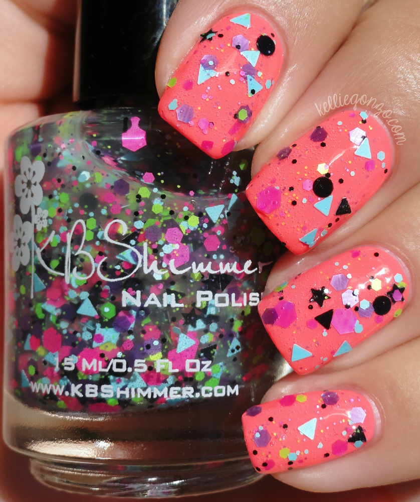 KBShimmer - Scribble Me This over You're So Shellfish | kelliegonzo