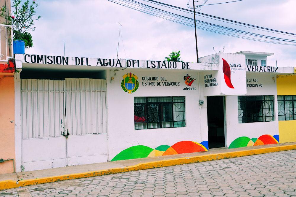 Comisión del Agua en Tlapacoyan, Veracruz