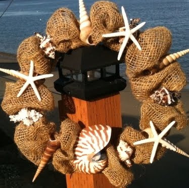 wreath from caron's beach house