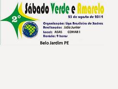 23.08.2014 SABADO VERDE E AMARELO