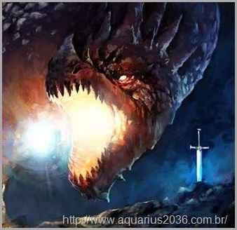 a espada de deus e o dragão apocalíptico