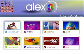 ALEX website