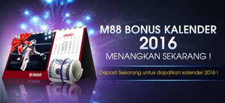 Dapatkan Bonus Kalender 2016 M88 Seksi